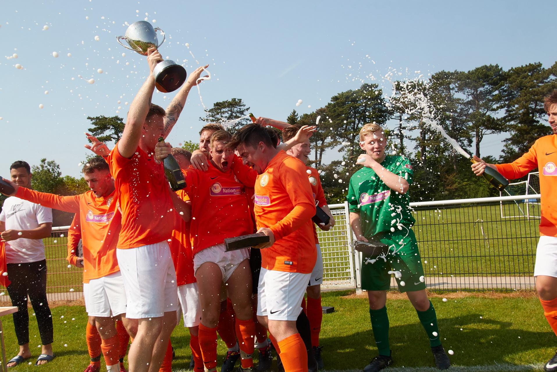 Rugby Borough Football Club - Team Photo