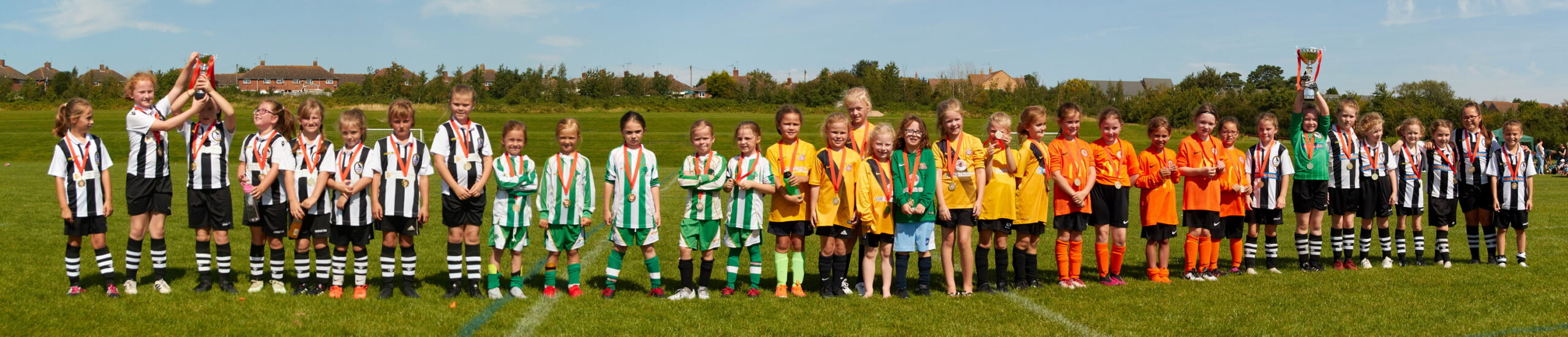 Rugby Borough Girls - Festival of Football Match photo