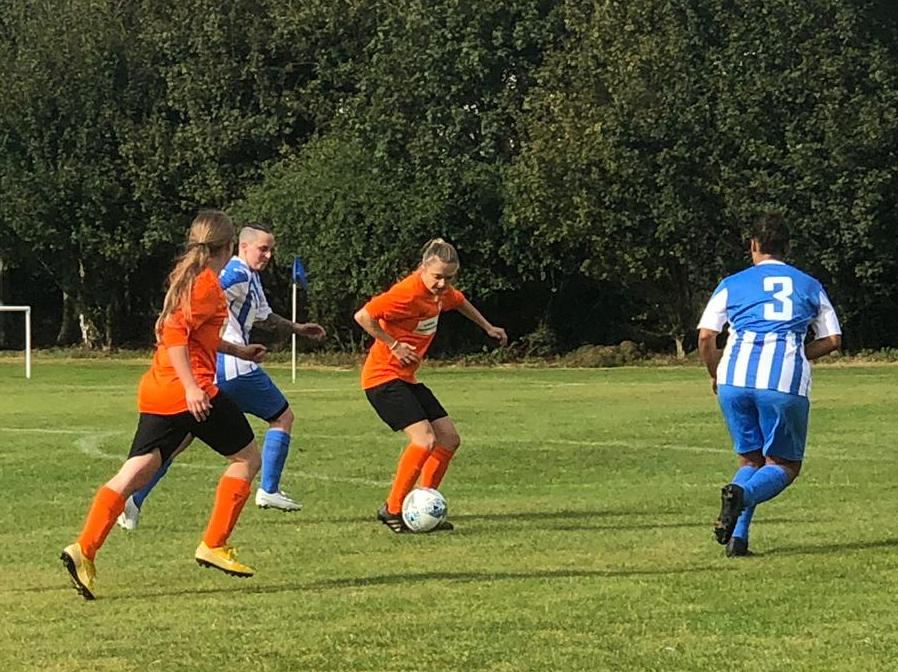 Darlaston Town Ladies v Rugby Borough Women Match Photo