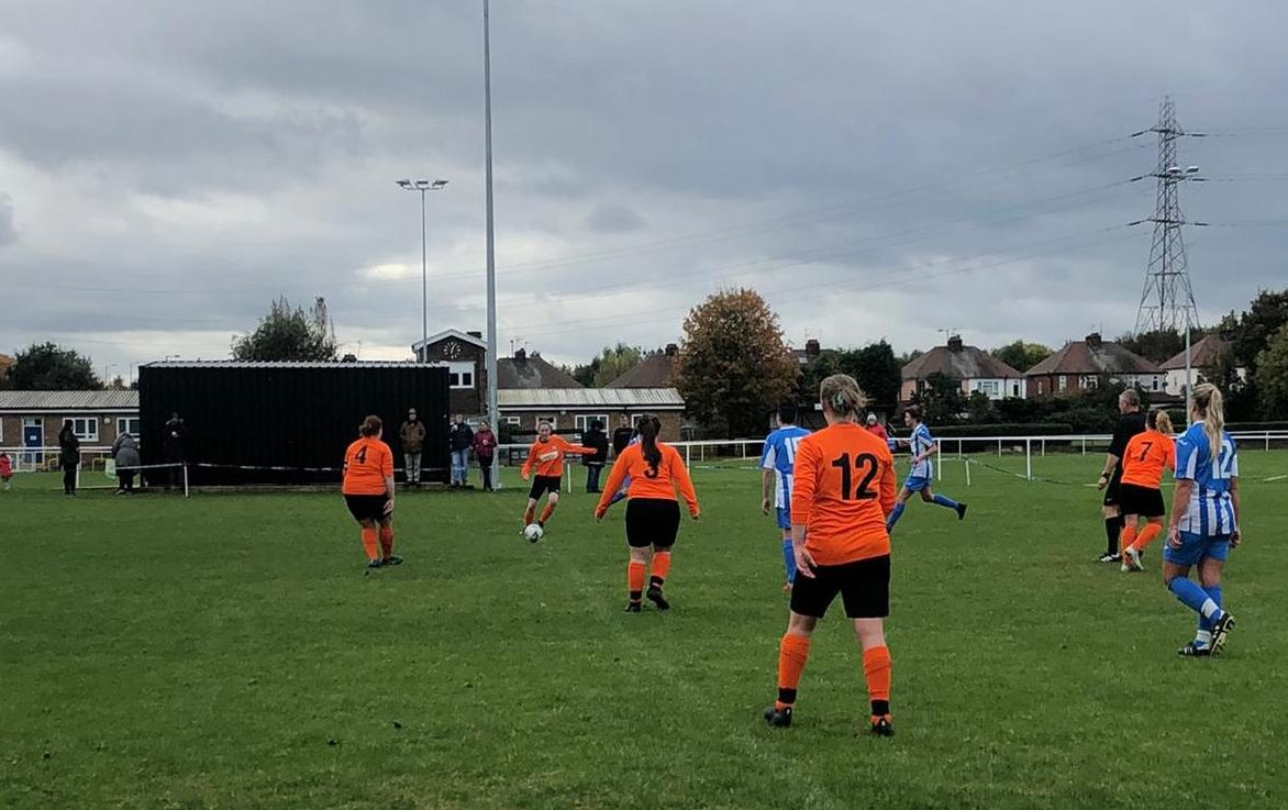 Darlaston Town Ladies v Rugby Borough Women - County Cup - Match Photos