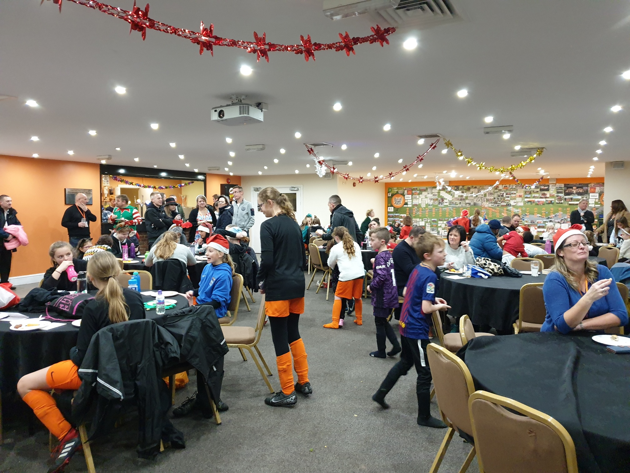 Rugby Borough Women & Girls - Christmas party 2019