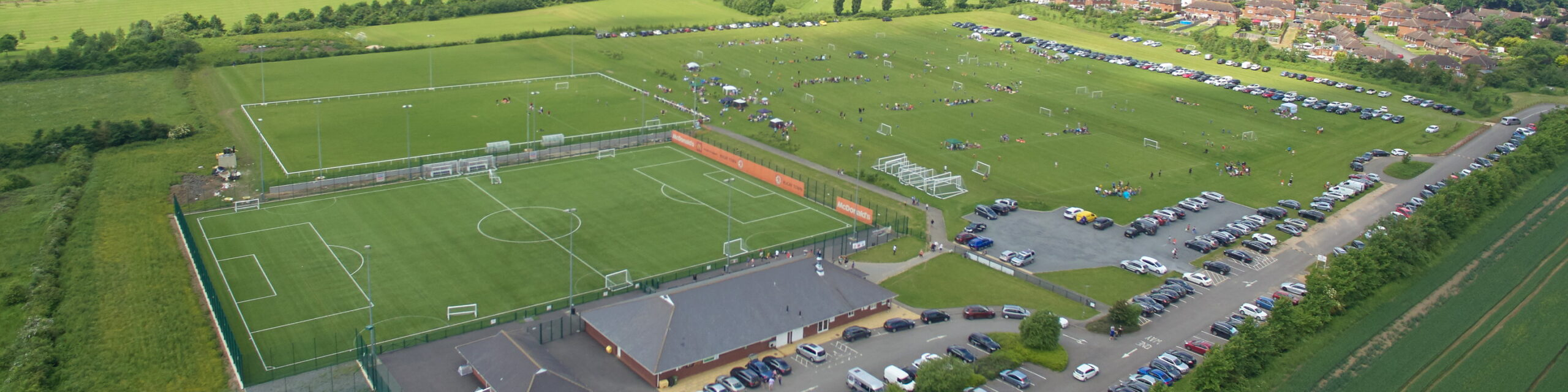 Rugby Borough FC - Kilsby Lane aerial view