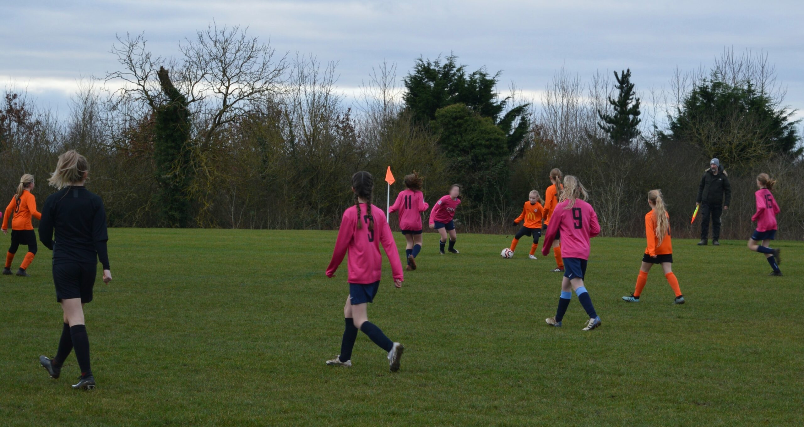 Rugby Borough Girls U12s v Asfordby Amateurs U12s - Match Photos