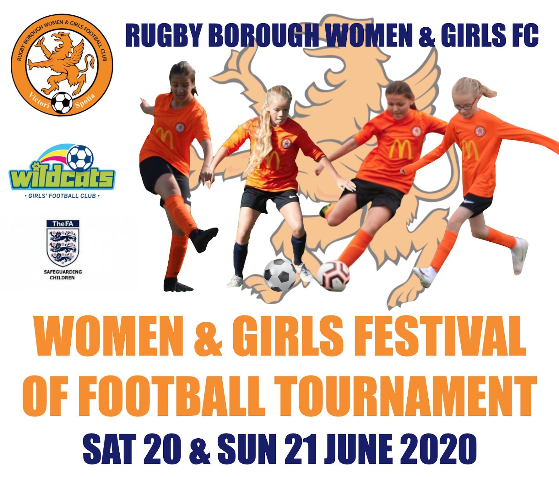 Rugby Borough Women & Girls - Festival of Football June 2020