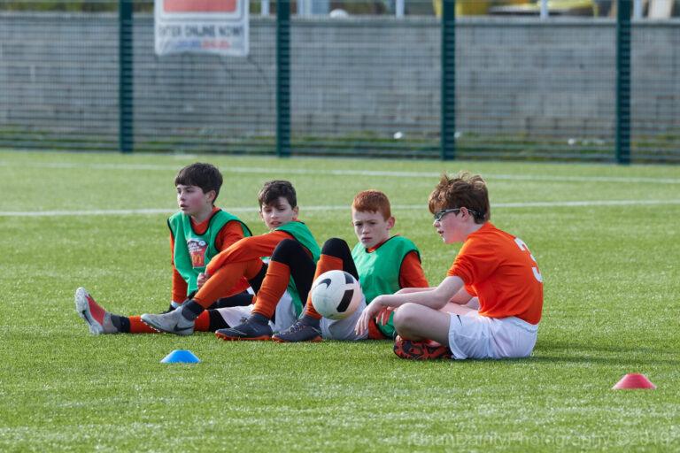 Rugby Borough U9 Tigers - Match Photo