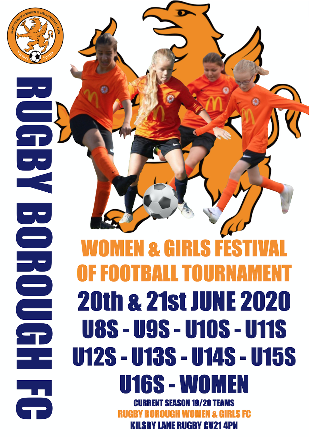 Rugby Borough Women & Girls - Festival of football promo