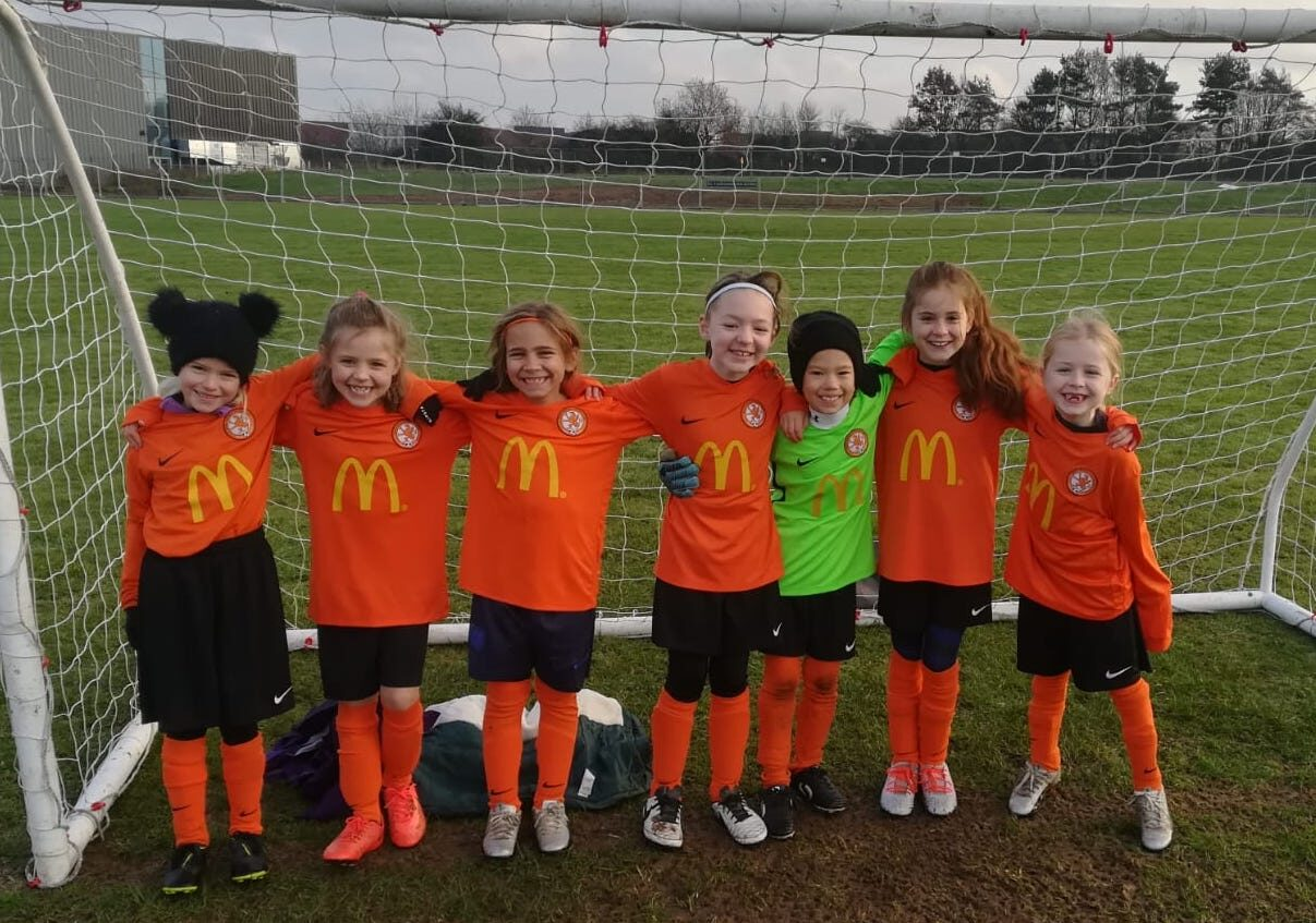 Rugby Borough WGFC U8s