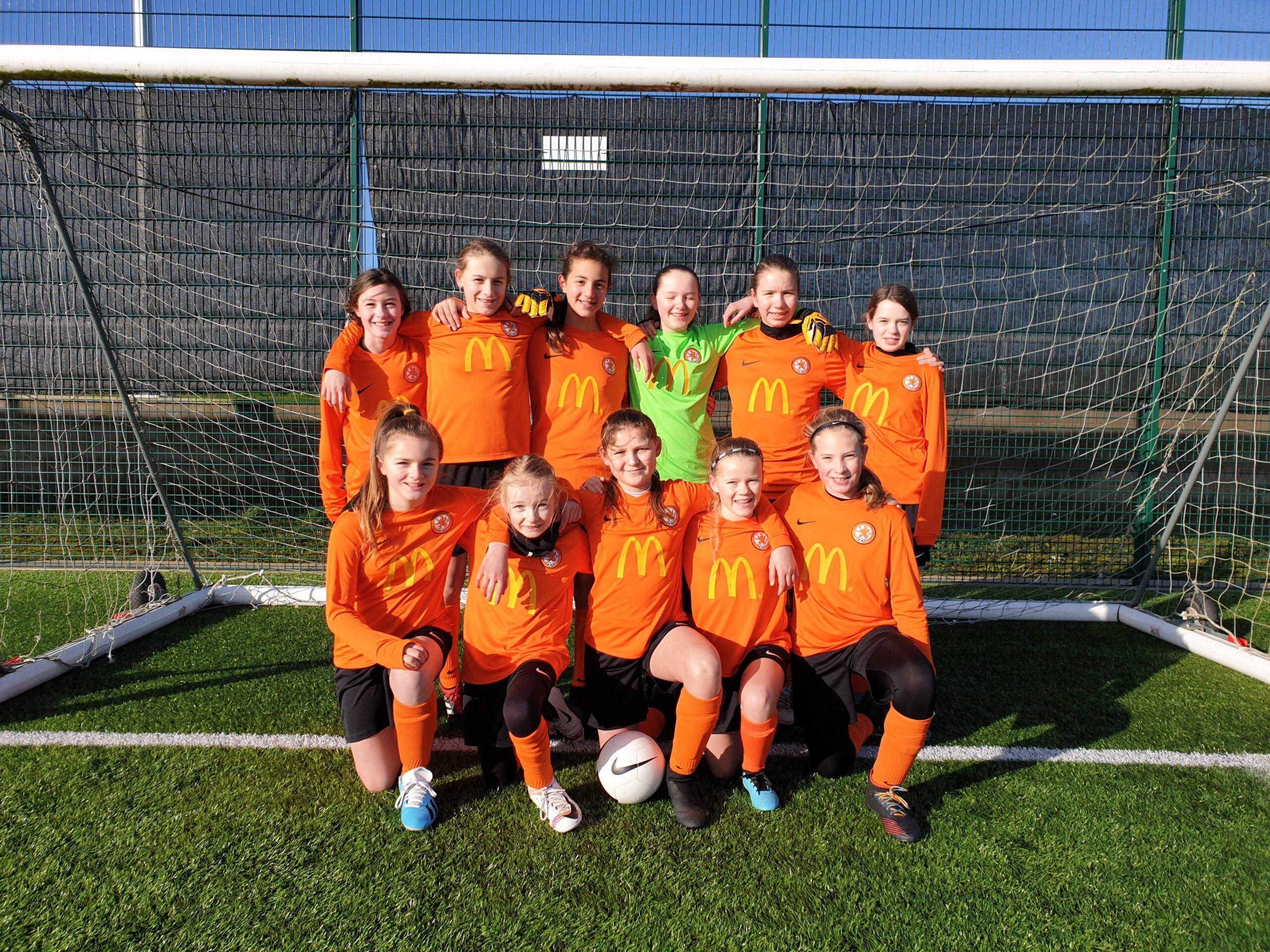 Rugby Borough Girls U12s v Oadby & Wigston Girls - Match photo