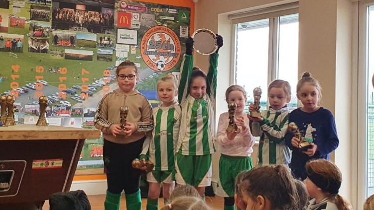 U8's Plate Finals day - Awards ceremony
