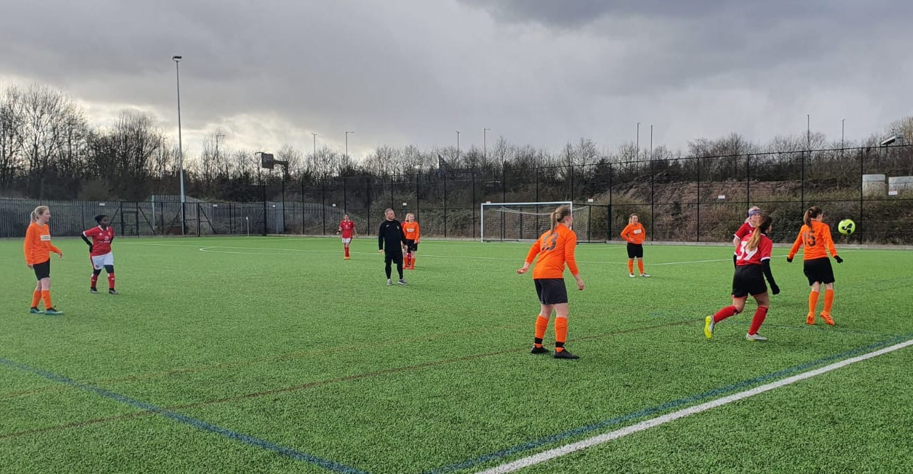 Walsall Ladies Dev v Rugby Borough Womens FC - Match photo