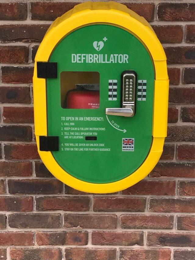 Rugby Borough FC - Defibrillator