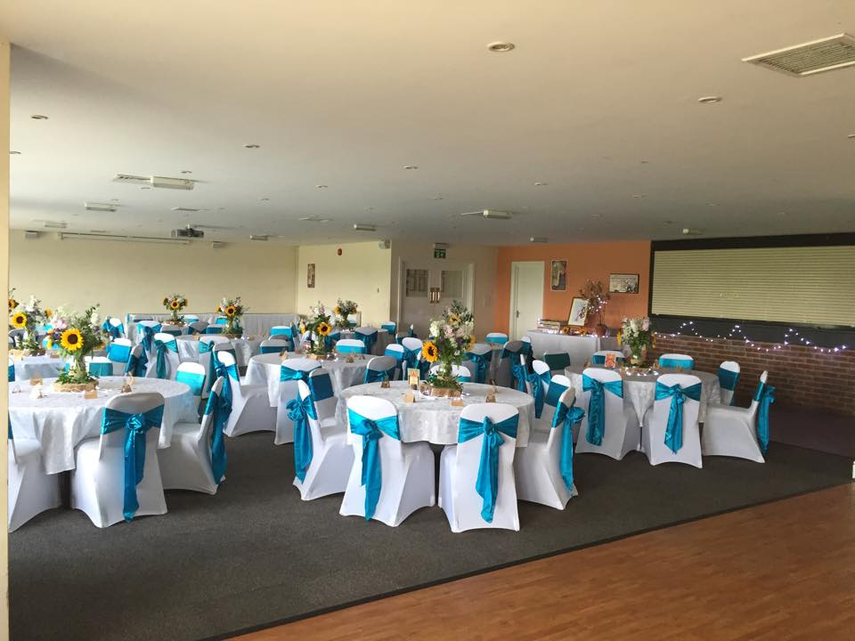 Rugby Borough FC - Event room setup 11