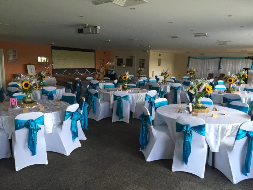 Rugby Borough FC - Event room setup 3