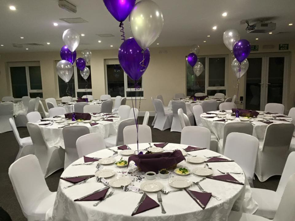 Rugby Borough FC - Event room setup 4