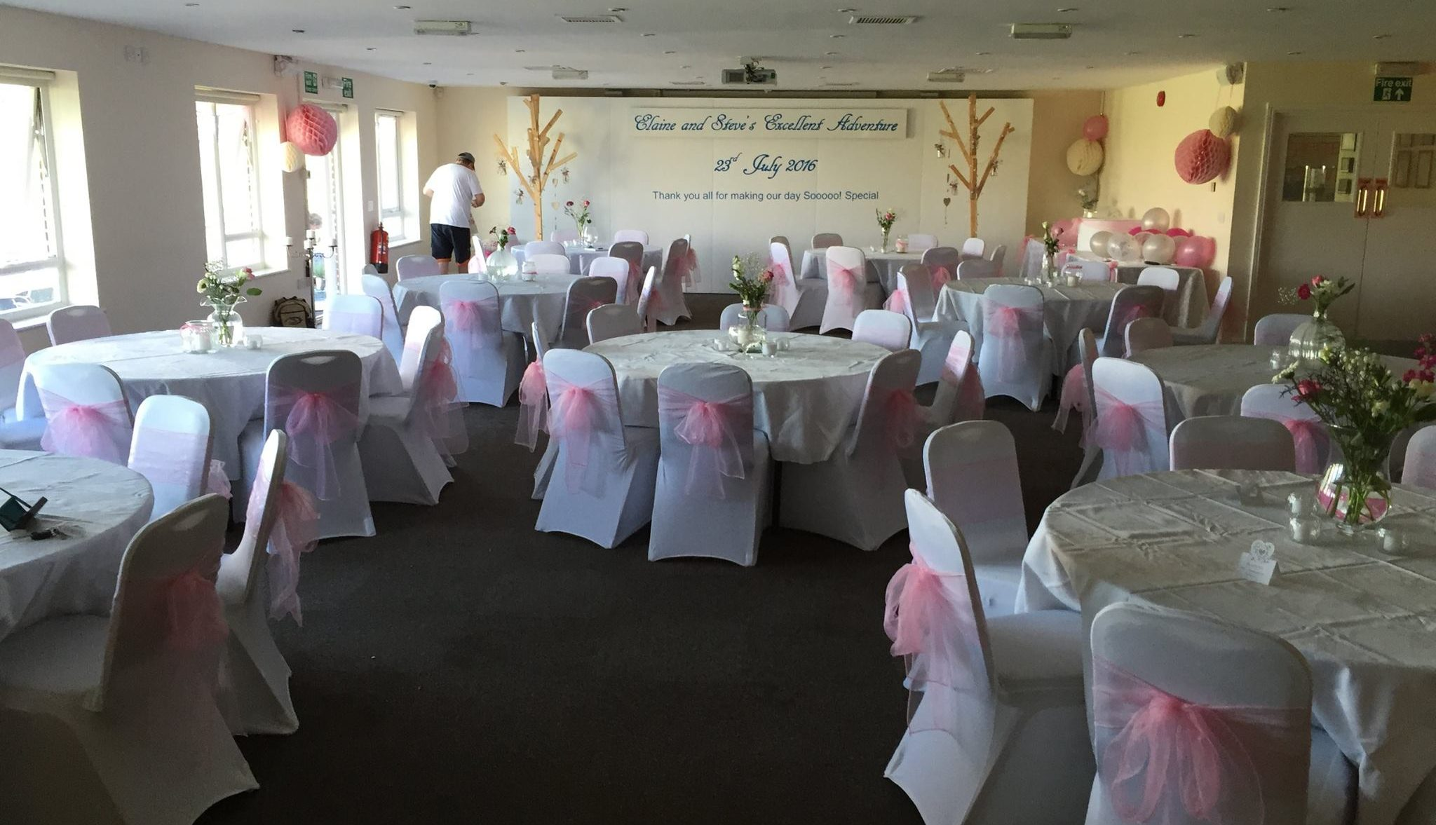 Rugby Borough FC - Event room setup 7