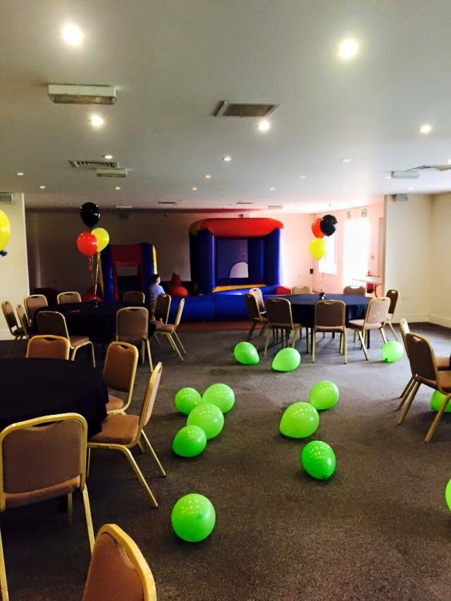 Rugby Borough FC - Event room setup birthday party 1