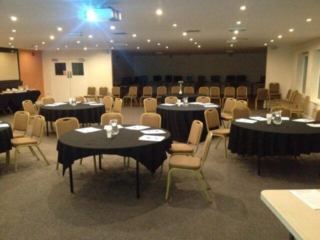 Rugby Borough FC - Event room setup conference 1