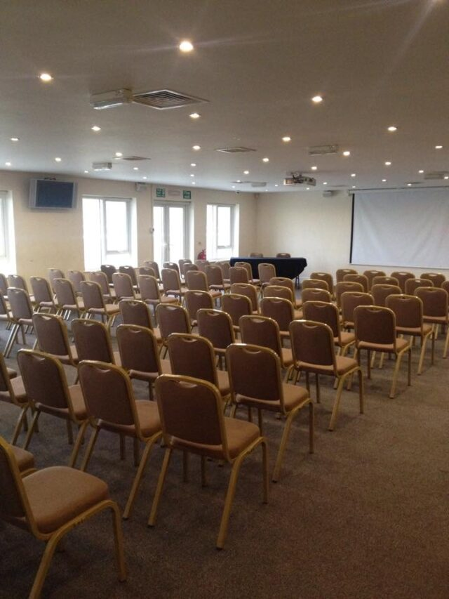 Rugby Borough FC - Event room setup conference 4