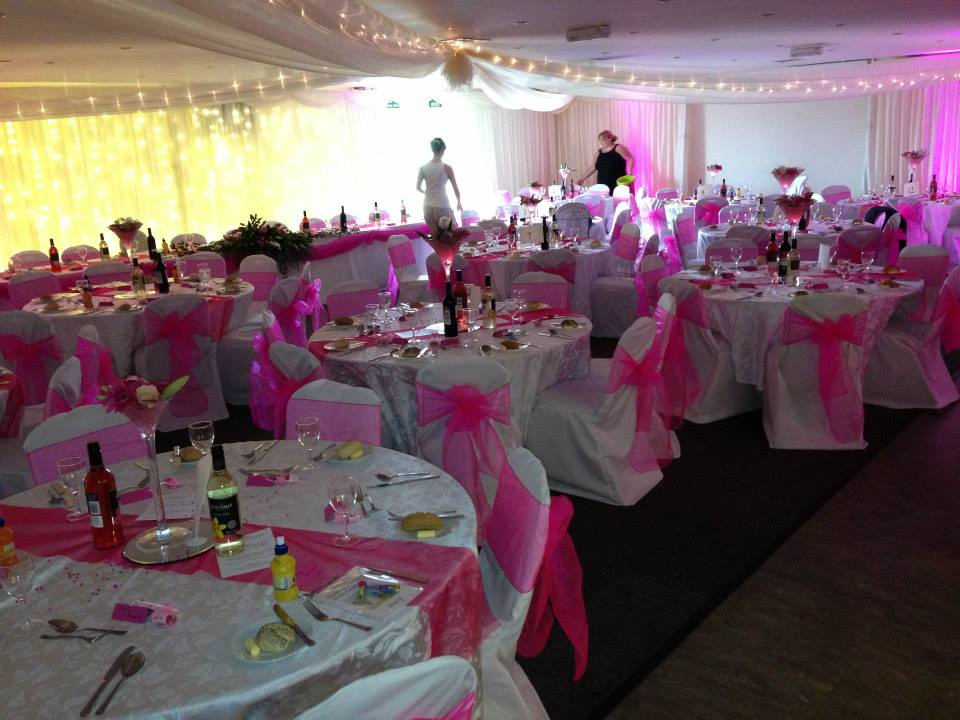 Rugby Borough FC - Event room wedding