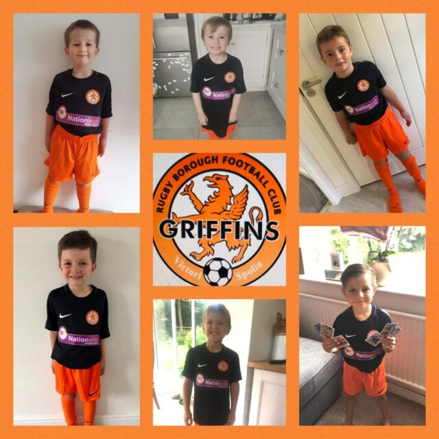 Rugby Borough FC - Griffins photo montage