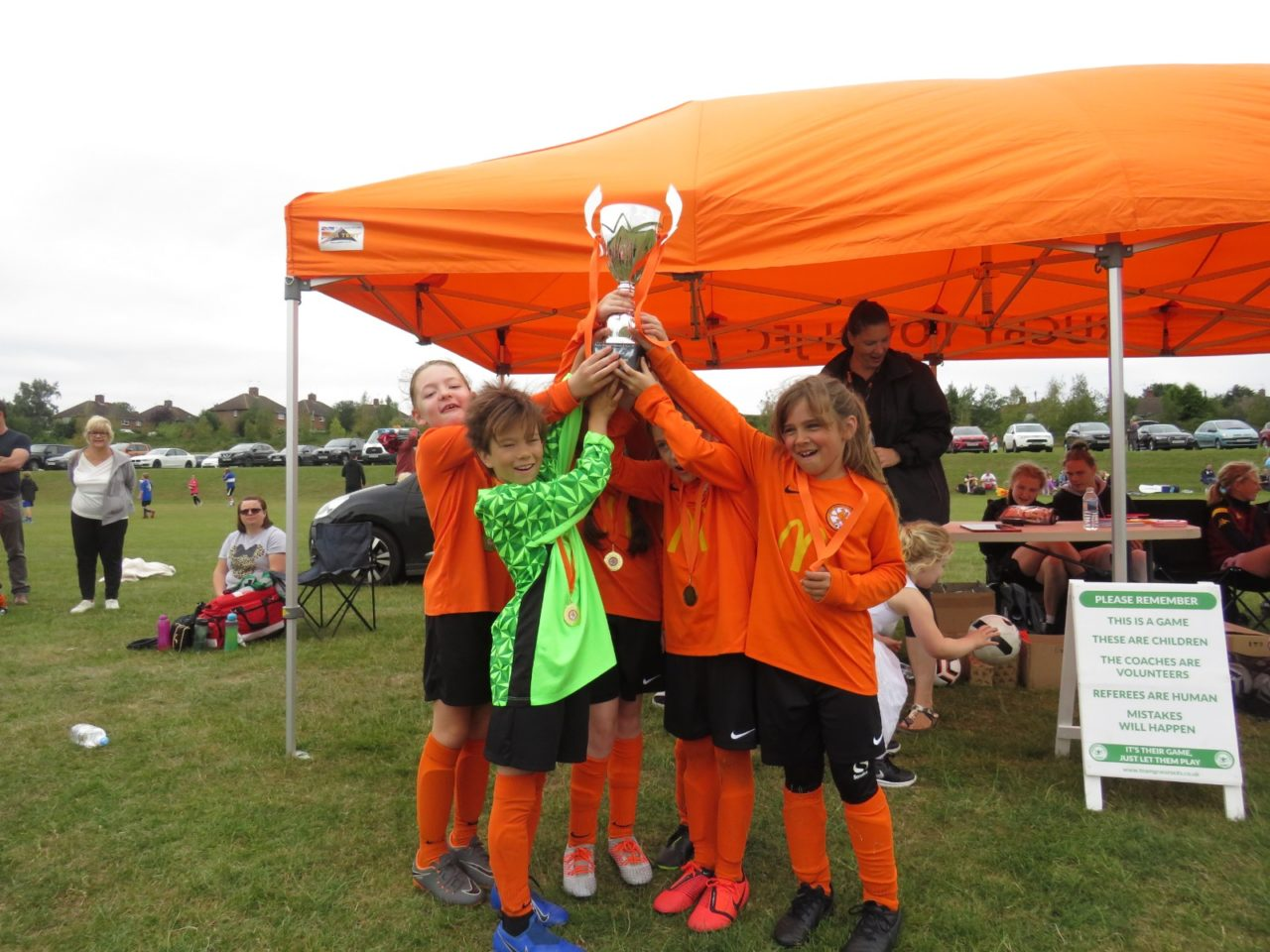 Under 9's  storm to victory | Rugby Borough FC