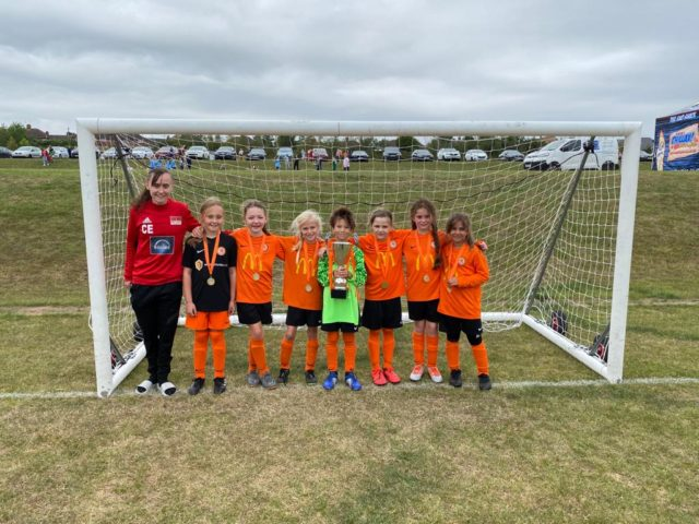 RBWGFC - Under 9's winners at the 2020 festival of football - 4