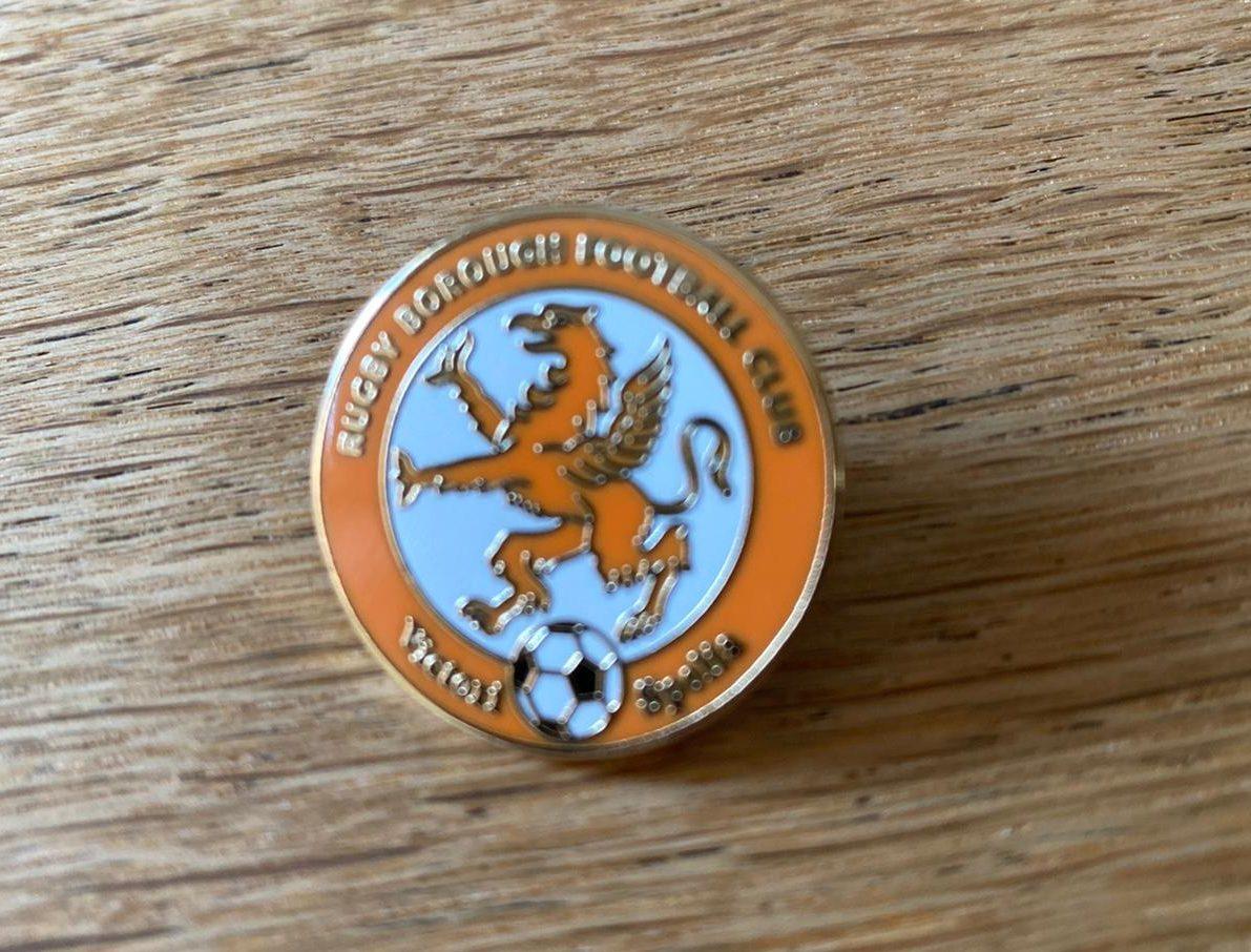 Rugby Borough FC pin badge