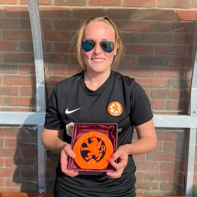 Player of the Match - Lorna | Rugby Borough Women FC