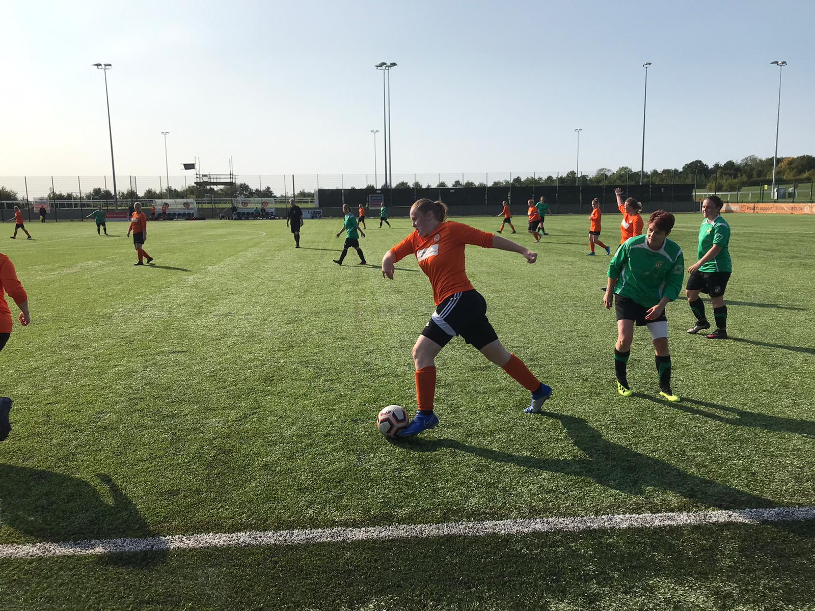 Rugby Borough Women FC vs Leamington Hibs