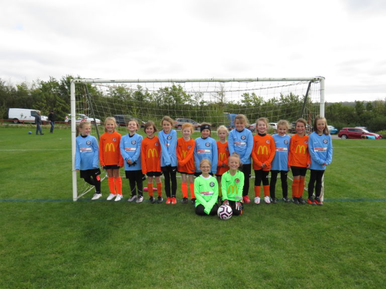 U8 Girls v Rugby Town - Match photo 18
