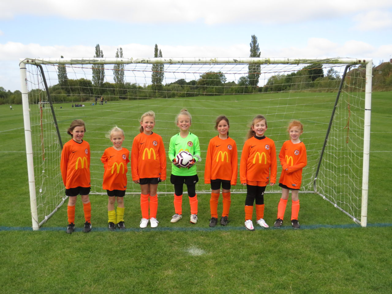U8 Girls v Rugby Town U8s | Rugby Borough FC