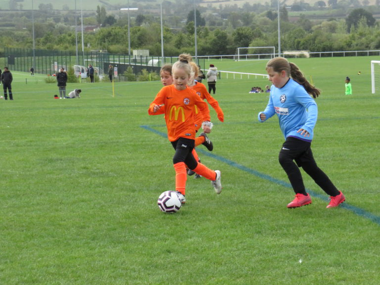 U8 Girls v Rugby Town - Match photo 22