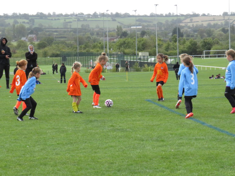 U8 Girls v Rugby Town - Match photo 5