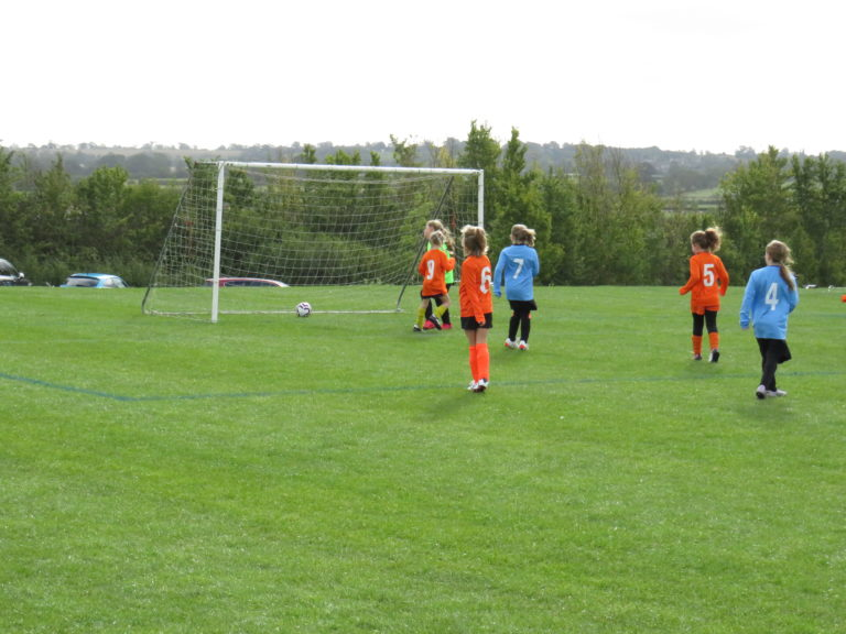 U8 Girls v Rugby Town - Match photo 7