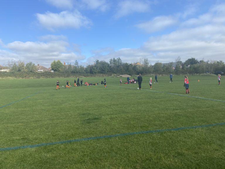U9 Girls v Haunchwood - Match photo 1