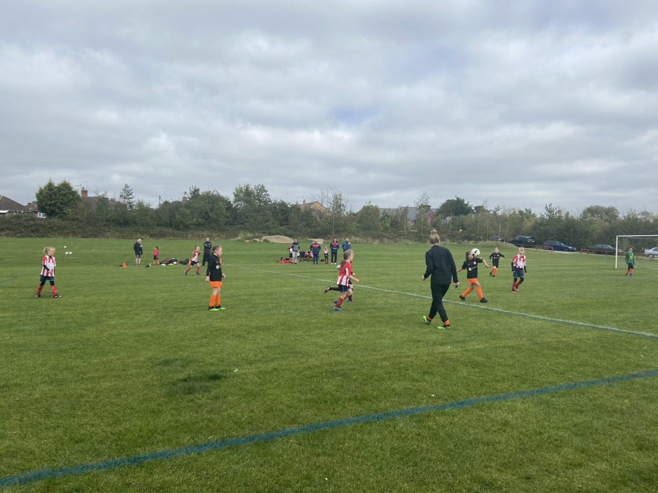 U9 Girls v Haunchwood Aces | Rugby Borough FC