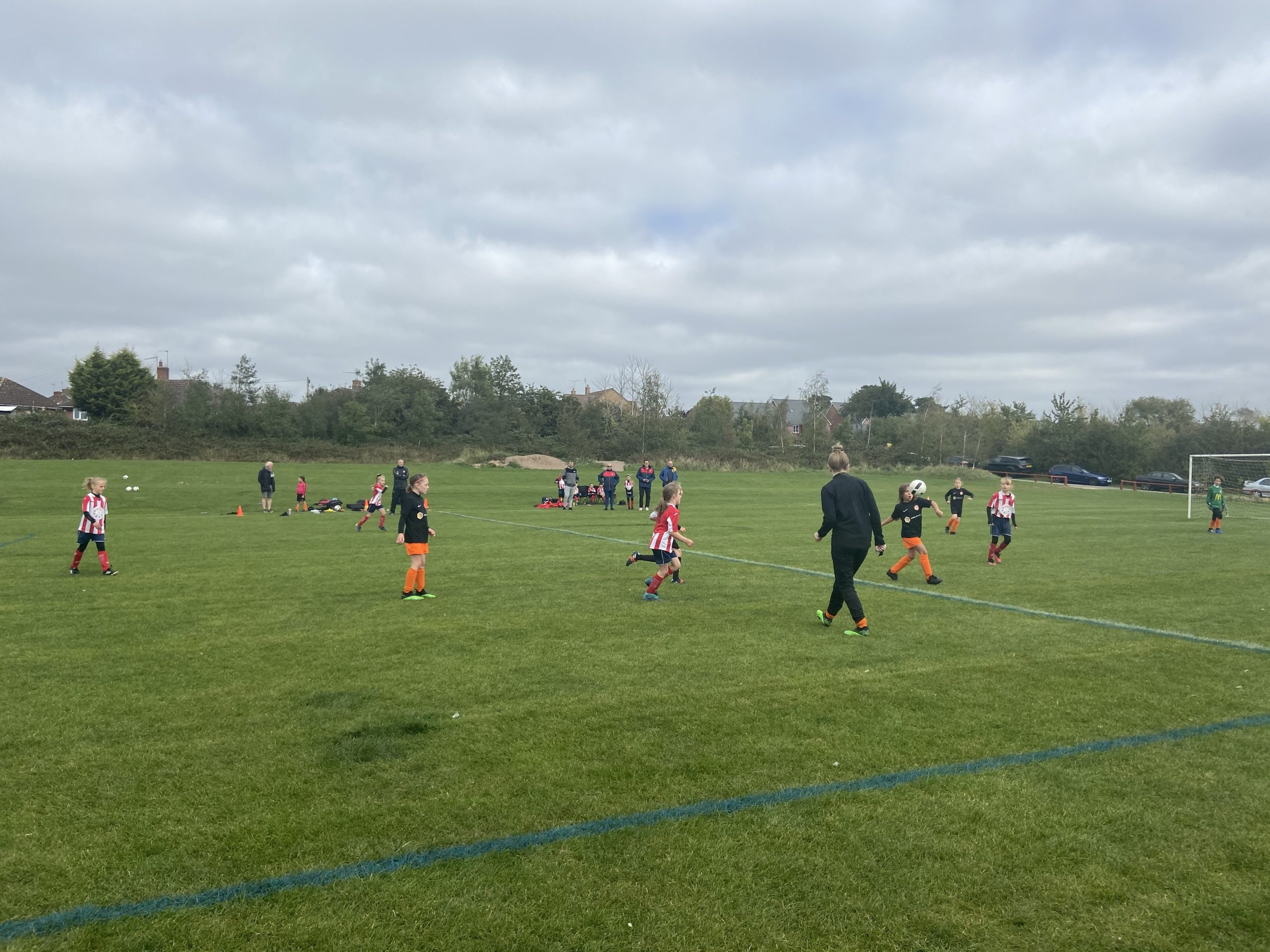 Women & Girls Football Festival 2020 a huge success! | Rugby Borough FC