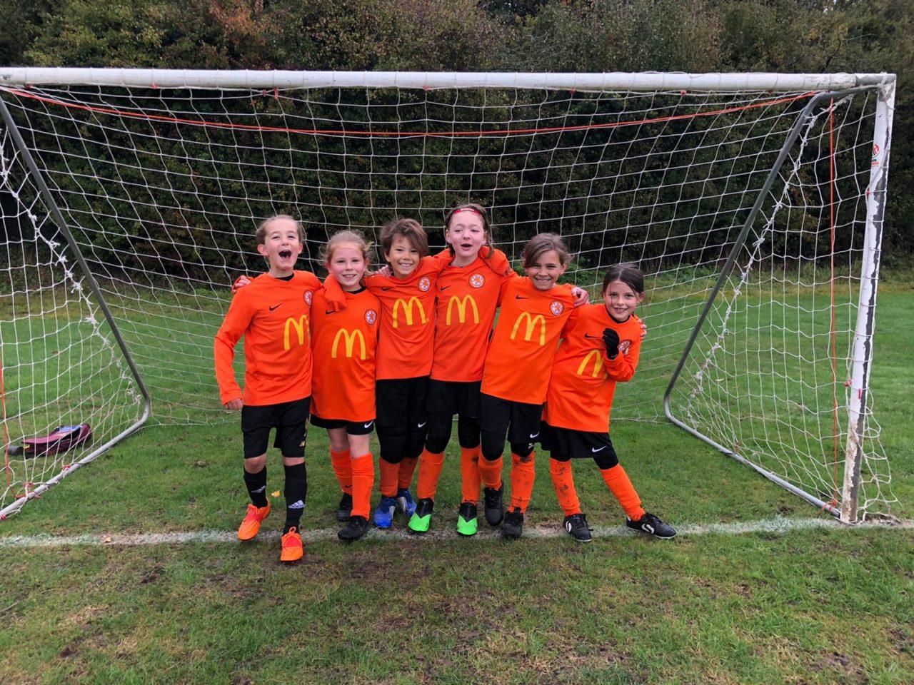 U9 Girls travel to Croft   Rugby Borough FC