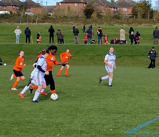 U12 Girls v Kibworth Town 5