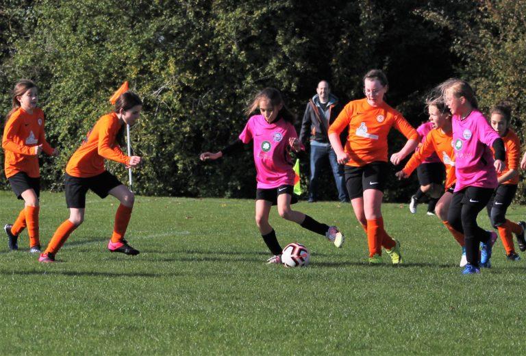 U12 Girls v Narborough Foxes - Match photo - 1