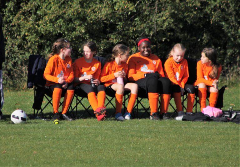 U12 Girls v Narborough Foxes - Match photo - 11