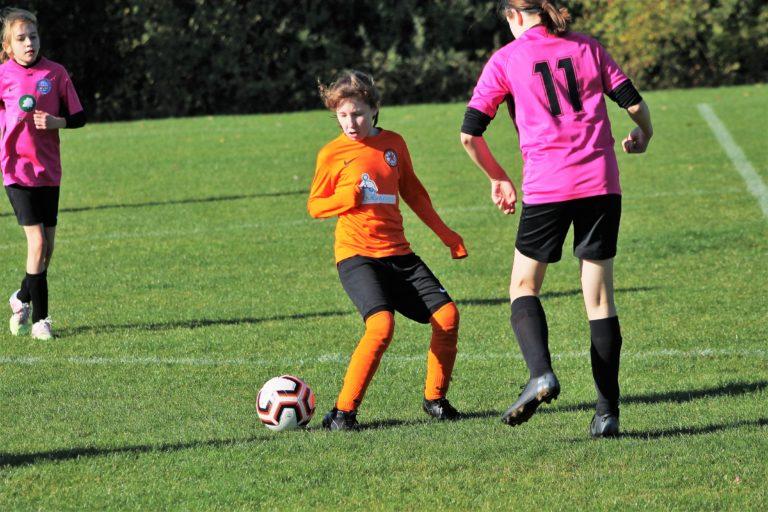 U12 Girls v Narborough Foxes - Match photo - 13