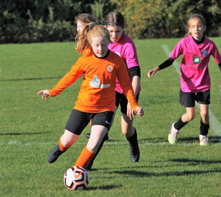 U12 Girls v Narborough Foxes - Match photo - 14