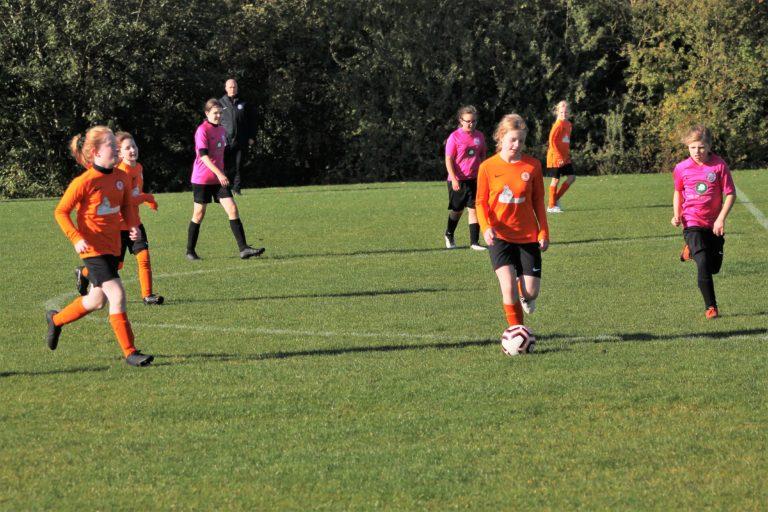 U12 Girls v Narborough Foxes - Match photo - 15