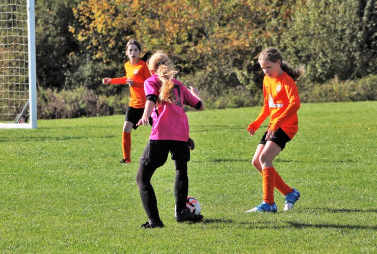 U12 Girls v Narborough Foxes - Match photo - 2