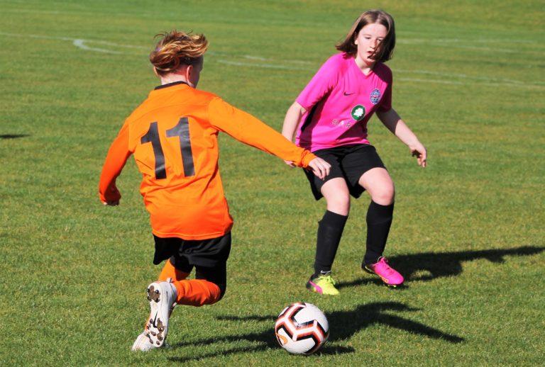 U12 Girls v Narborough Foxes - Match photo - 4