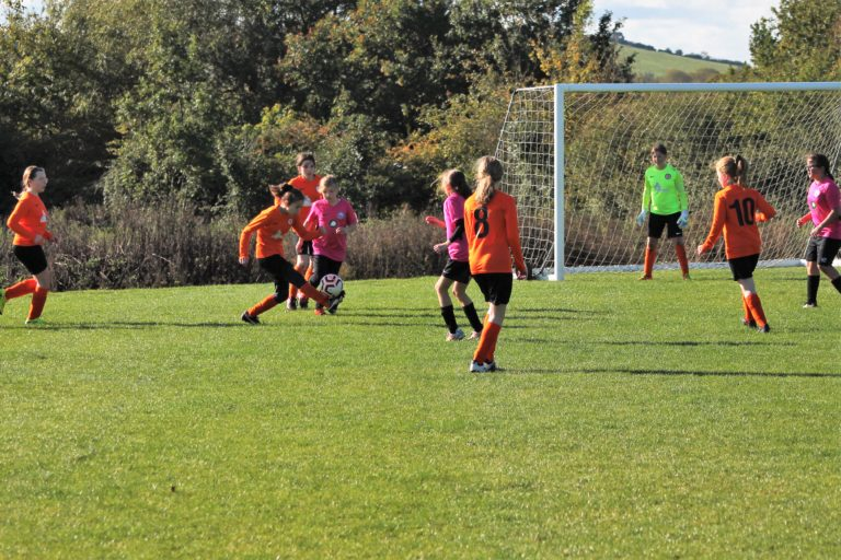 U12 Girls v Narborough Foxes - Match photo - 5