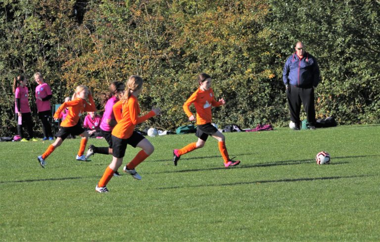 U12 Girls v Narborough Foxes - Match photo - 6