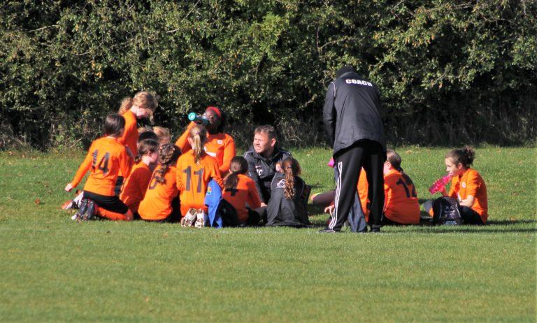 U12 Girls v Narborough Foxes - Match photo - 7