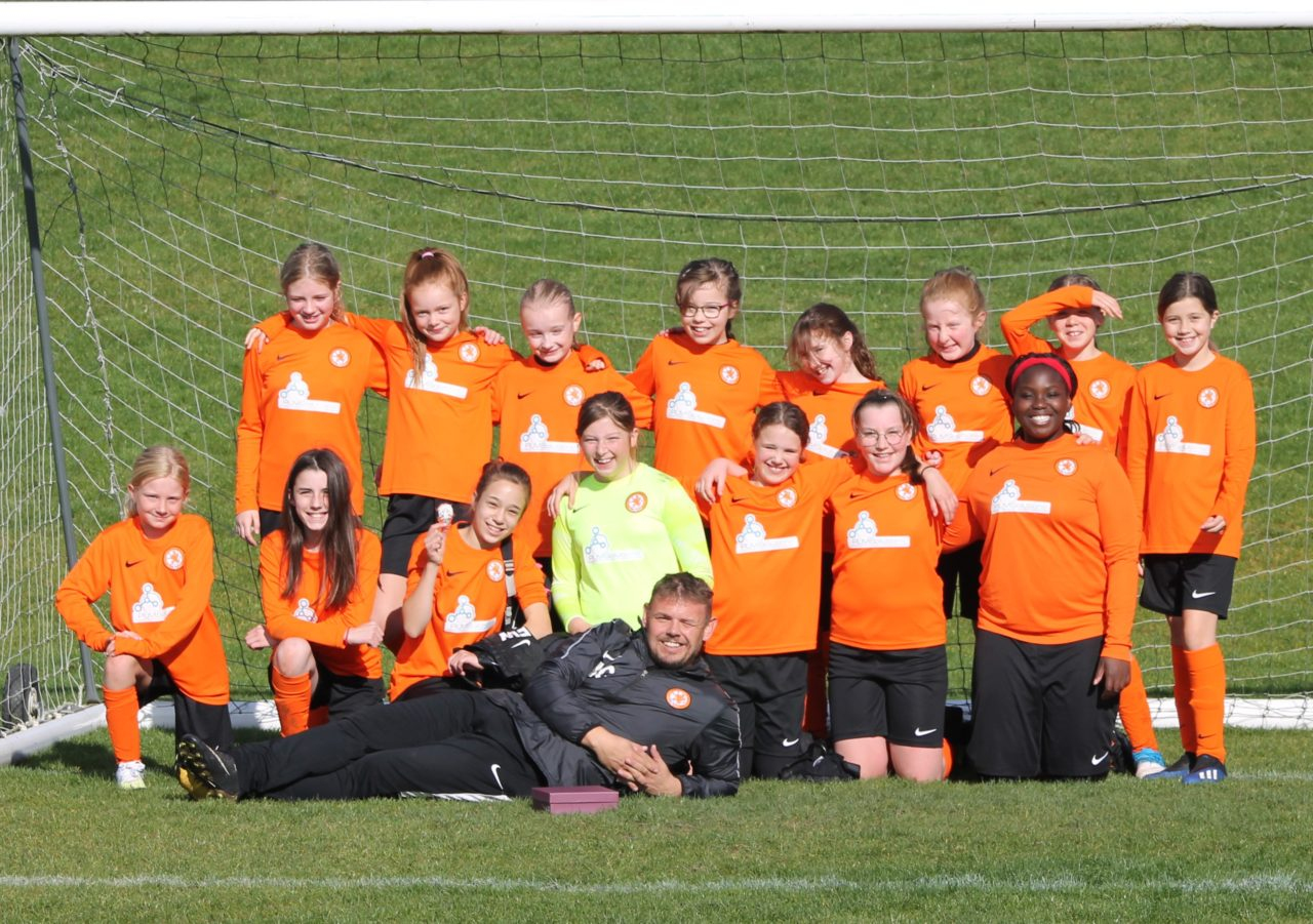 Girls U12's v Narborough Foxes | Rugby Borough FC